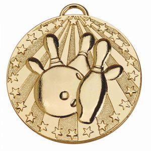 Ten Pin Bowling Medals